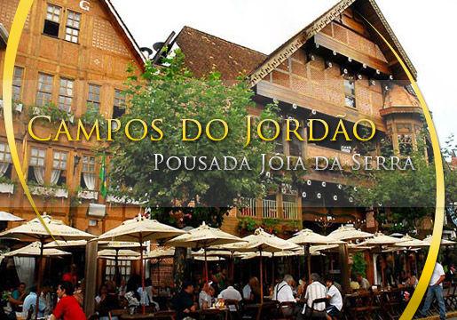 Campos do Jordão: 02 diárias para Casal + Café