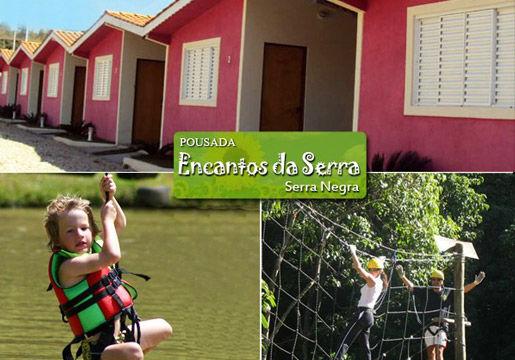 Serra Negra: 3 Diárias para 2 + Café + 6 Atividades