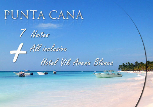 Punta Cana Rasgado: Aéreo + 7 Noites All Inclusive!!!