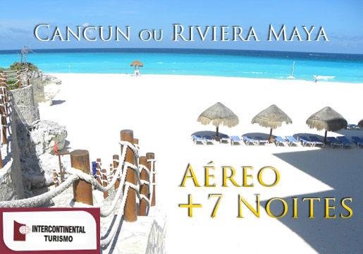 Feriado em Cancun: Pacote Completo All Inclusive