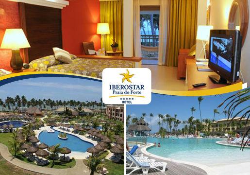 Resort TOP na Praia do Forte:4 ou 7 Dias.Últimos Lugares!