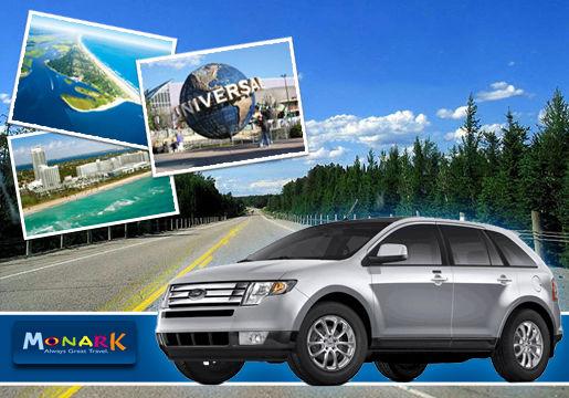 7 dias de Carro em Miami ou Orlando + Seguro + Km Livre