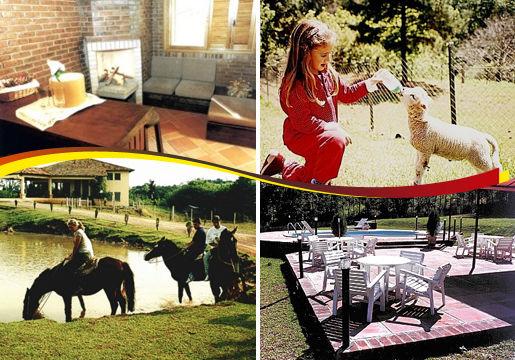 Hotel Fazenda Pinus Parque: 3 Diárias p/ Casal+Café