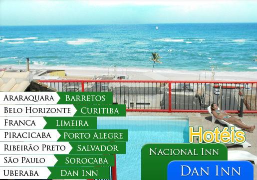 INÉDITO: Pacote de 3 Diárias em 17 Hotéis pelo Brasil