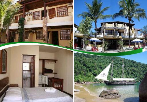 Final de Semana em Paraty para 2: Ônibus+Hotel+Escuna