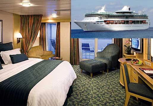 Suite TOP em Cruzeiro de 3 Noites da Royal Caribbean