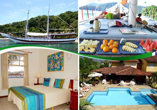 Páscoa em Paraty: Ônibus+Hotel+Café+Passeios