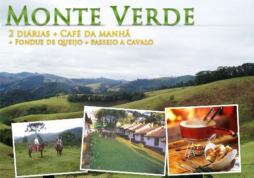Monte Verde/MG: 2 diárias p/2+café+fondue de queijo