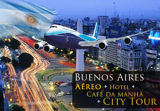 O MELHOR Buenos Aires: Aéreo + Hotel+ Café + City Tour