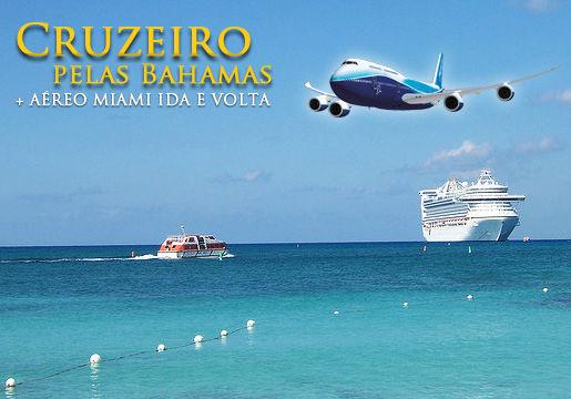 Aéreo + 7 noites de Cruzeiro no Caribbean Princess
