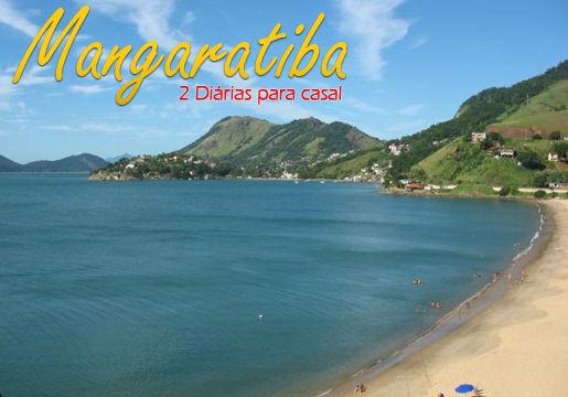 Mangaratiba/RJ: 2 diárias para casal