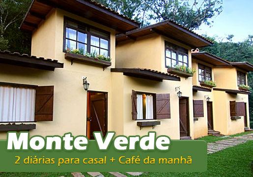 2 Diárias para Casal + Café da manhã em MONTE VERDE