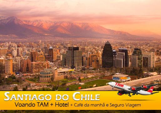 Aéreo p/ CHILE em 2 Noites por 698,00 só no Viajar Barato