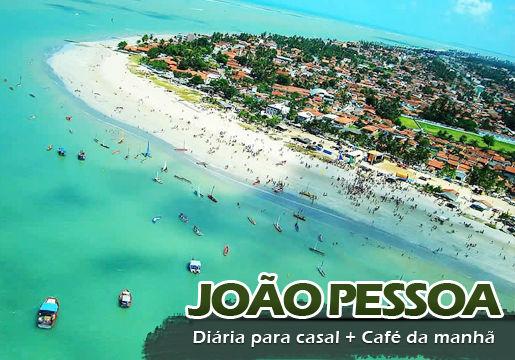 João Pessoa perto da Praia: Diária para Casal com Café