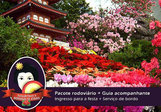 Atibaia: Festa das Flores e dos Morangos