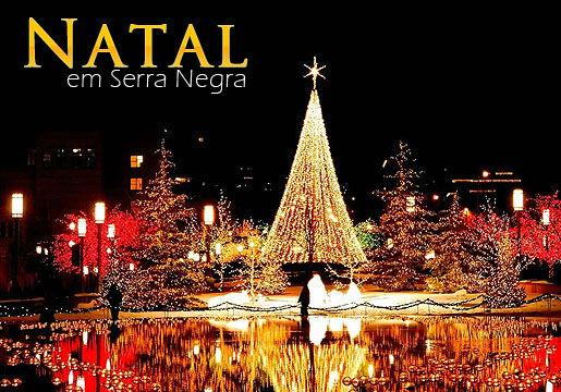 Natal SERRA NEGRA: CASAL + Criança + Café + Ceia