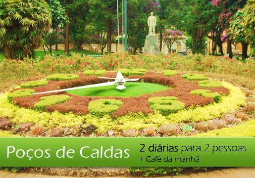 POÇOS de CALDAS: 2 Diárias p/ Casal c/ Café muito Lazer