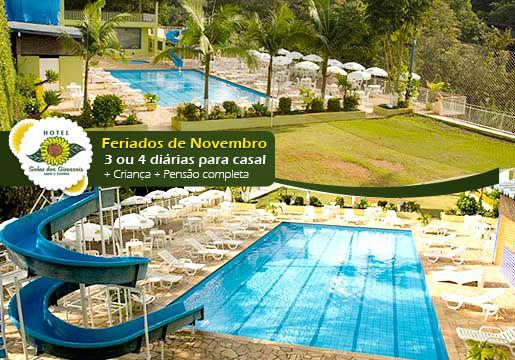 FERIADOS de Novembro - Hotel Fazenda + Pensão Completa