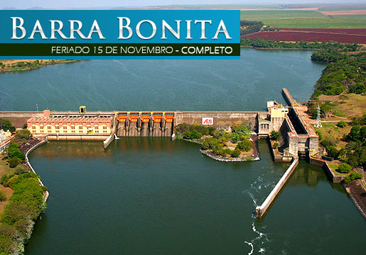 BARRA BONITA: Pacote Rodoviário +hotel+tour + passeios