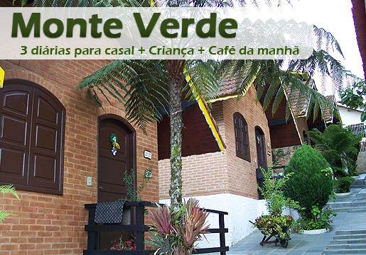 Feriados de Novembro em MONTE VERDE: Chalé p/ Casal