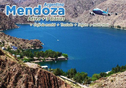 Pacote para MENDOZA na Argentina: Aéreo+Hotel +Café+Tour