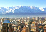 SANTIAGO do CHILE c/ Passagem A�rea + Hotel + Caf�