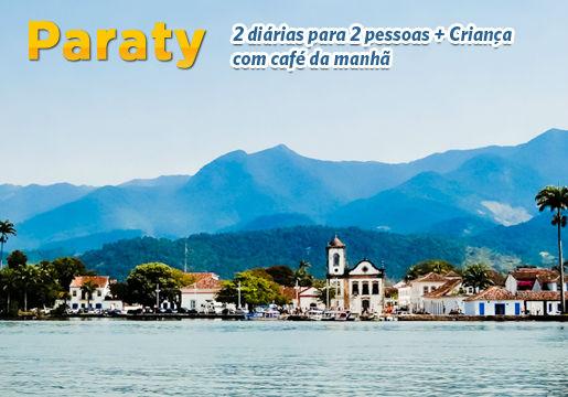 Alta Temporada 2013 em PARATY!! 2 Diárias p/ 2 pessoas