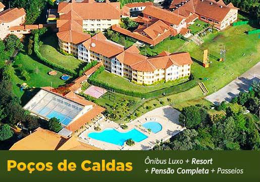 POÇOS DE CALDAS: Rodoviário+Hotel+Refeições+City+Seguro