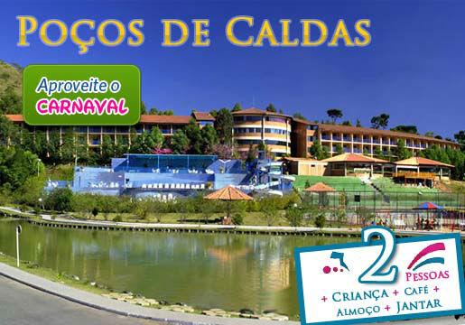 Carnaval em Poços de Caldas: Hotel p/ Casal + Café
