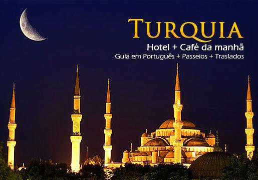 Conheça TURQUIA em 9 Noites com Traslados + Guia