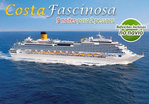 ÚLTIMA HORA: Cruzeiro Costa Fascinosa p/2 PESSOAS