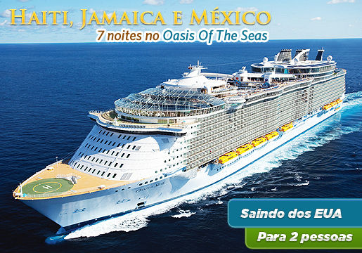 ESSA É TOP: Oasis of the Seas - O Maior Navio do Mundo!