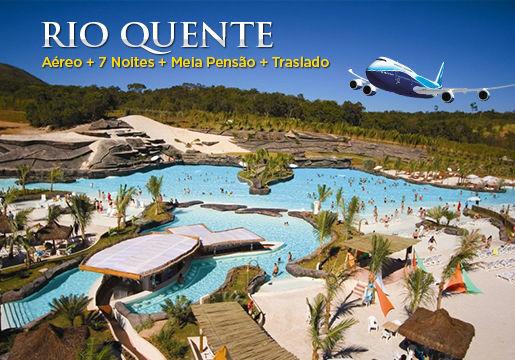 Férias de Julho TOP: Caldas Novas no Rio Quente Resorts