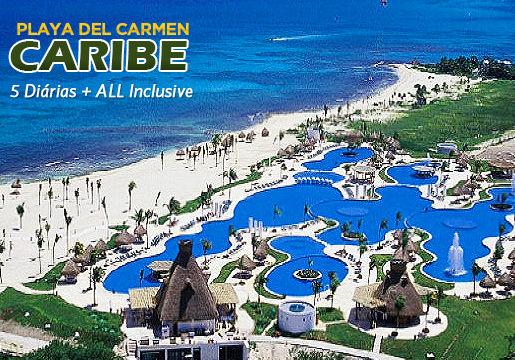 Caribe em RESORT ALL INCLUSIVE para Casal