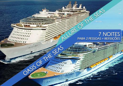 Caribe IMPRESSIONANTE: Allure of the Seas para 2 pessoas