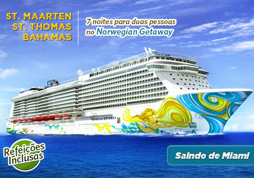 EXCLUSIVO NAVIO: Inauguração do Norwegian Getaway