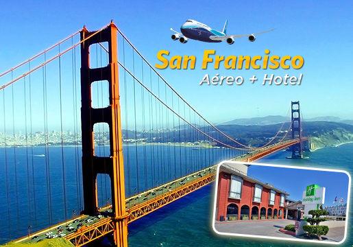 Pacote para San Francisco com Aéreo + Hotel