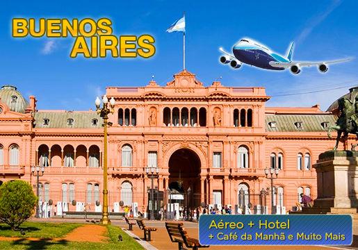 Buenos Aires c/Aéreo + Hotel e muito mais por R$299