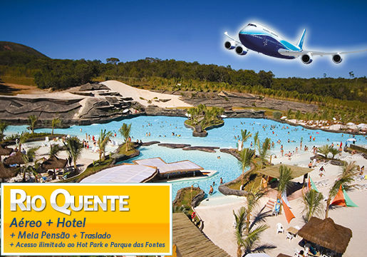 Rio Quente Resorts: Confira as opções de faça sua escolha
