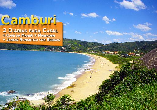 Camburi - Litoral Norte de SP! 2 diárias p/ Casal