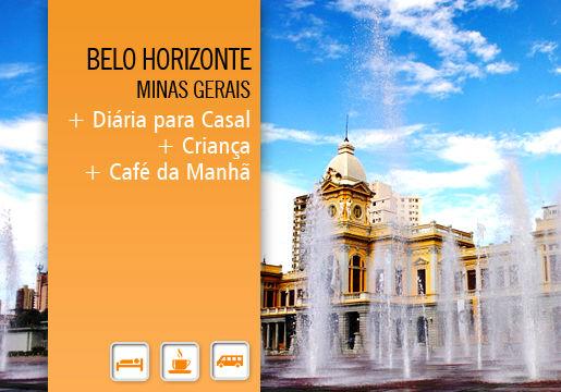Belo Horizonte: 1 Diária p/ Casal + Café da Manhã