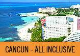 CANCUN All Inclusive + Open Bar c/ A�reo + 4 Noites!
