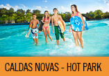 CALDAS NOVAS c/ A�reo + hotel + city tour + hot park!