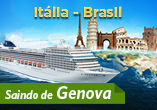 Travessia no MSC Poesia saindo da It�lia para Santos