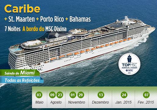 Cruzeiro INACREDITÁVEL pelo CARIBE: Embarque em Miami!