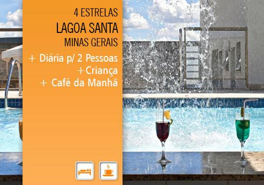 Ramada Airport Hotel em Lagoa Santa: Diária + Café