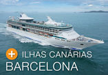 14 Noites de SANTOS p/ BARCELONA no Splendour Of The Seas