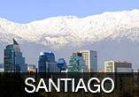 SANTIAGO em Alta Temporada: Aéreo + Hotel + Café