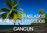 Passeios e traslados p/ Cancun a partir de R$59,00