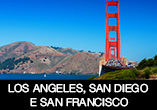 3 em 1: Los Angeles, San Diego e San Francisco